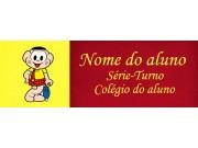 Etiqueta Escolar Média - CASCÃO