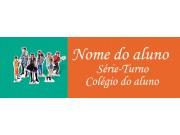 Etiqueta Escolar Média - CUMPLICES DE UM RESGATE